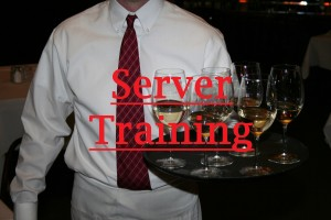 restaurant server training